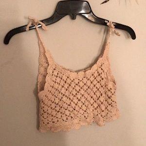 Billabog crop knit shirt